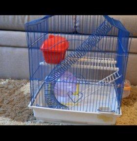 Клетка для хомячка