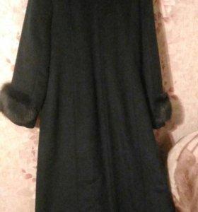 Пальто зимнее,размер 54-56,торг