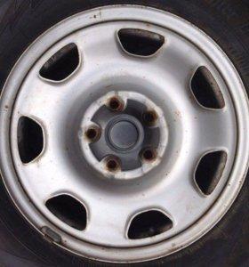 Штампованные диски R16 5/114,3 Toyota Оригинал