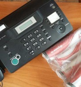 Телефон/факс панасоник