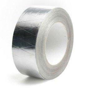 Алюминиевый скотч армированный 75*50 мм