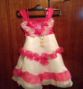 На 5-6 лет платье
