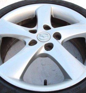 Литье R17 5/114,3 Mazda Оригинал