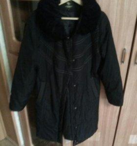 Женское пальто б\у