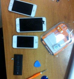 Замена батареи на айфон iPhone