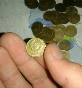 Старые монеты(1коп)