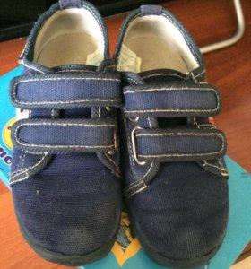 Ботинки текстильные р27