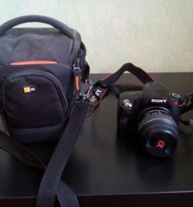 Зеркальный фотоаппарат sony a290