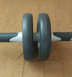 Колесо гимнастическое двойное House fit DD-6500
