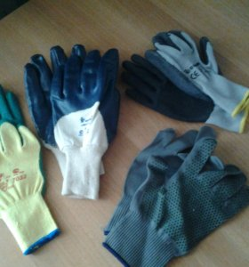 Многофункциональные перчатки с частичным покрытием