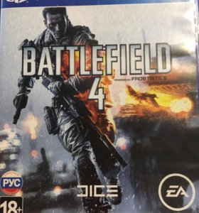 Battlefield 4 для ps4 (обмен)