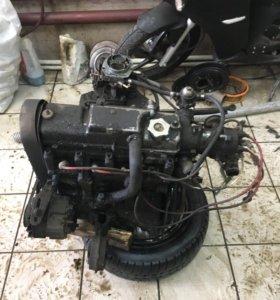Двигатель КПП