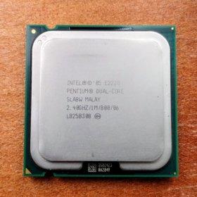 Процессор Pentium Dual CORE E2220