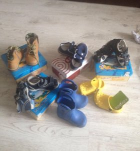 Продам б/у обувь для мальчика пакетом!