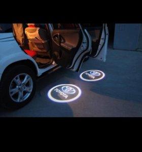 Логотипы на авто.