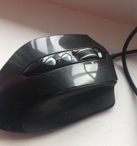 Oklick Hunter laser gaming mouse black USB