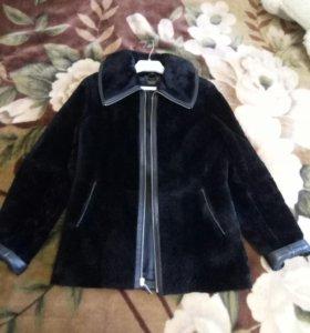 Куртка мутоновая, женская, размер 42-44