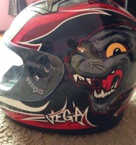 Шлем для картинга vega (детский) БУ