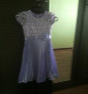 Платье для дев. 6-7 лет