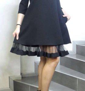 👗стильное платье 👗46-54раз.👍