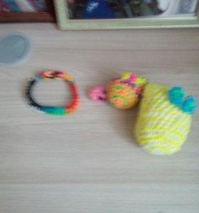 Игрушки из резинок