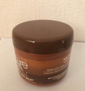 🎁Крем для лица и тела с маслом какао 400 мл.avon.