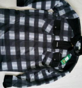 Новая тёплая рубашка мужская