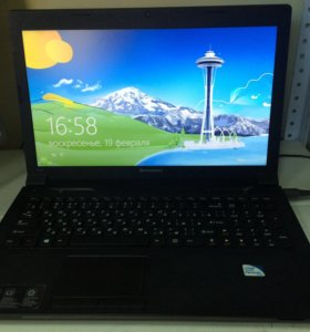 Ноутбук Lenovo B590 почти новый.