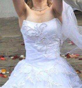 Свадебное немецкое платье Tessuto-cloth tissu-stof