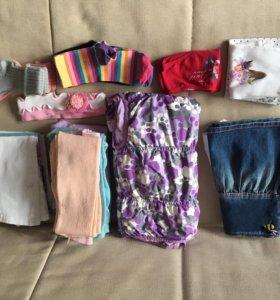 Пакет вещей на девочку 3-4 года