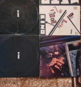 Виниловые пластинки группы Кино