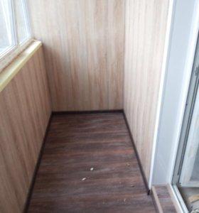 Ремонт и электрика на балкон или лоджию