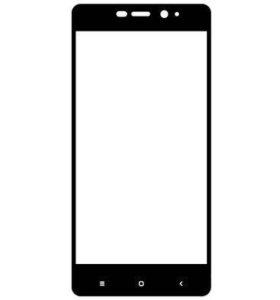 Защитное стекло 3D Full для Xiaomi Redmi 4, черное