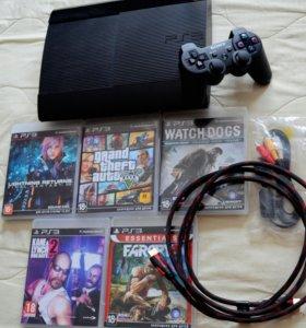 Игровая приставка Sony Playstation 3,  1Терабайт!