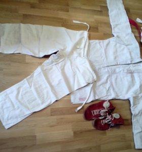 Кимоно+борцовки+штаны