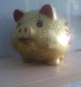 Копилка(свинка)