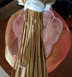 Букет из пшеницы натуральный