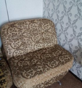 Мягкая мебель 2 кресла и диван