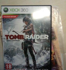 Tomb raider на Xbox 360