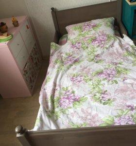 ЛЕКСВИК кровать детская, растёт вместе с ребенком.