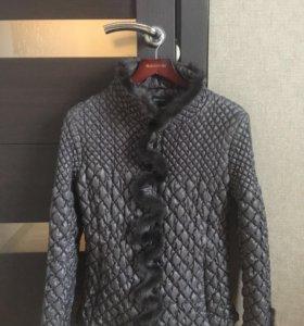 Женская куртка/ветровка/пуховик TOTOGROUP с норкой
