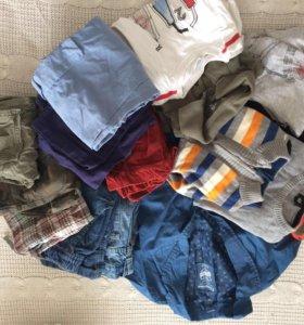 Пакет вещей на мальчика , 98-110