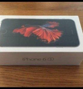 Коробка от iPhone 6s 32 gb и все аксессуары новая