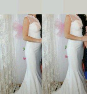 Свадебное, вечернее платье
