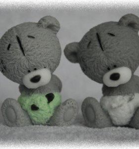 Мыло ручной работы Тедди малыш