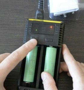 Зарядник Nitecore Intellicharger NEW i2