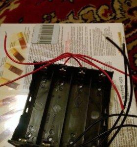 Батарейный отсек для монтажа на плату