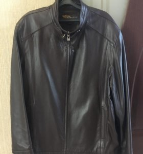Куртка кожаная 52-54 размер