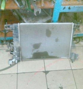 Радиатор охлаждения для шевроле