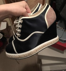 Chanel ботинки туфли
